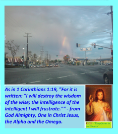 God is Almighty, in Christ Jesus, we may not need to boast, for Jesus in the 'TRUTH' in this life, and He is the 'WAY.'